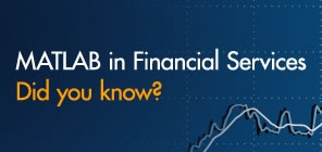 MATLAB in Financial Services